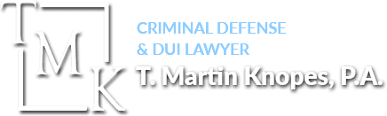 Criminal Defense & DUI Lawyer T. Martin Knopes